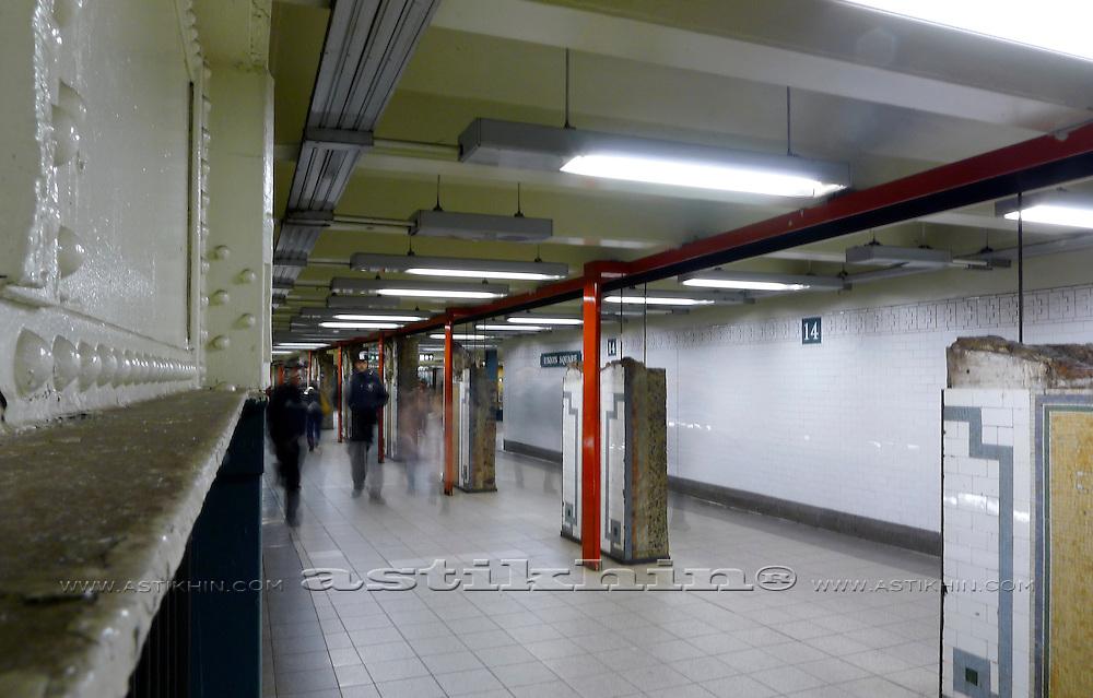14 Street Subway Station.