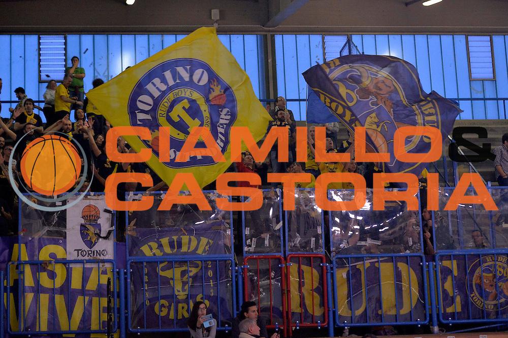 tifosi torino<br /> Vanoli Cremona - Fiat Auxilium Torino<br /> Lega Basket Serie A 2016/2017<br /> Cremona, 12/02/2017<br /> Foto Ciamillo-Castoria
