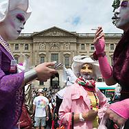 Paris Gay pride parade in Paris/ parade des fiertes LGBT