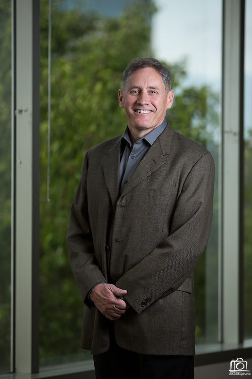 Terry Lydon, Vice President of Services of Rainmaker Systems, Inc., poses for a portrait at the Rainmaker Systems, Inc. campus in Campbell, California, on April 25, 2013. (Stan Olszewski/SOSKIphoto)