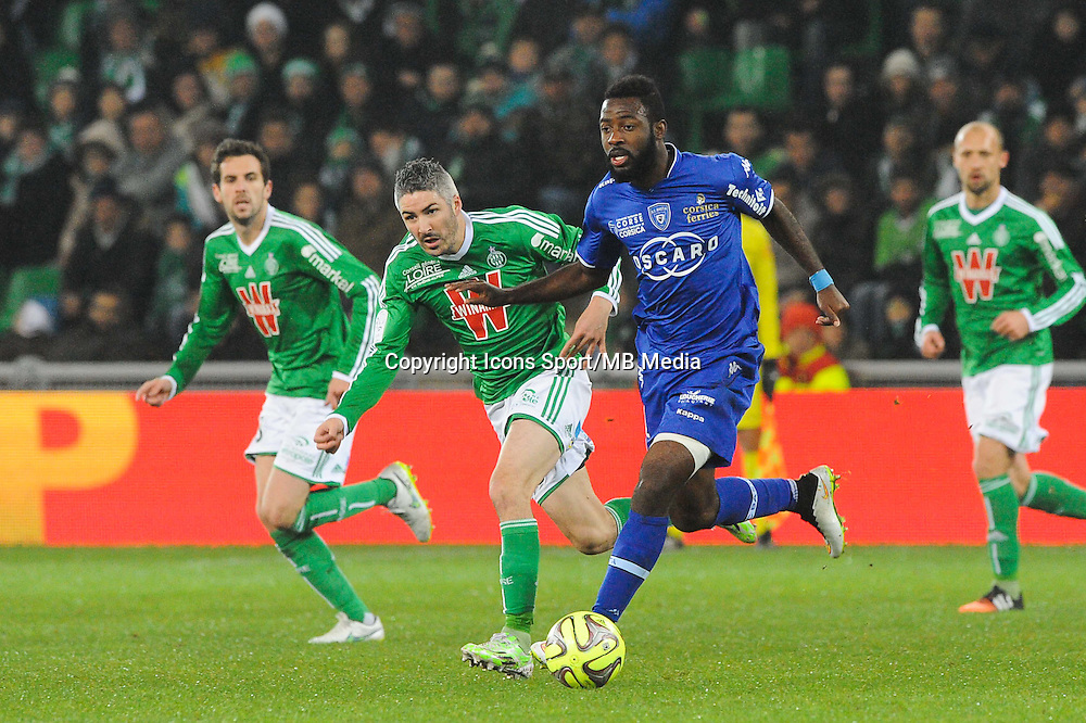 Gadji TALLO - 06.12.2014 - Saint Etienne / Bastia - 17eme journee de Ligue 1 -<br />
