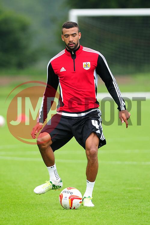 Bristol City's Liam Fontaine - Photo mandatory by-line: Dougie Allward/JMP - Tel: Mobile: 07966 386802 28/06/2013 - SPORT - FOOTBALL - Bristol -  Bristol City - Pre Season Training - Npower League One