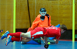 LEIZPIG - WC HOCKEY INDOOR 2015<br /> 05 RUS v SUI (Pool B)<br /> Foto: STEFFEN Nicholas scores 1-3<br /> FFU PRESS AGENCY COPYRIGHT FRANK UIJLENBROEK