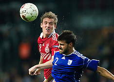 20101012 Danmark-Cypern fodbold DBU A-Landskamp