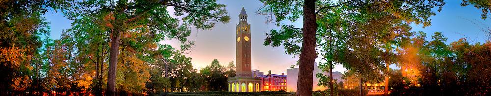 Bell Tower-Autum Night
