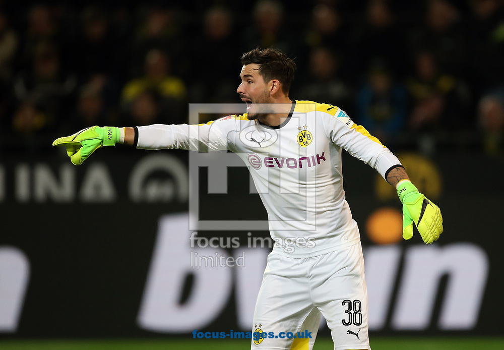 Roman Buerki of Borussia Dortmund during the Bundesliga match at Signal Iduna Park, Dortmund<br /> Picture by EXPA Pictures/Focus Images Ltd 07814482222<br /> 17/03/2017<br /> *** UK &amp; IRELAND ONLY ***<br /> EXPA-EIB-170318-0040.jpg