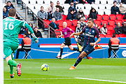 Kylian Mbappe (psg) during the French Championship Ligue 1 football match between Paris Saint-Germain and SCO Angers on march 14, 2018 at Parc des Princes stadium in Paris, France - Photo Pierre Charlier / ProSportsImages / DPPI