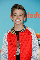 March 23, 2019 - Los Angeles, CA, USA - LOS ANGELES, CA - MARCH 23: Parker Bates attends Nickelodeon's 2019 Kids' Choice Awards at Galen Center on March 23, 2019 in Los Angeles, California. Photo: CraSH for imageSPACE (Credit Image: © Imagespace via ZUMA Wire)