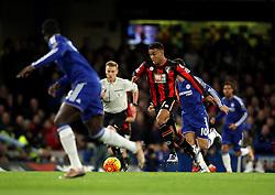 Joshua King of Bournemouth attacks the Chelsea defence - Mandatory byline: Robbie Stephenson/JMP - 05/12/2015 - Football - Stamford Bridge - London, England - Chelsea v AFC Bournemouth - Barclays Premier League
