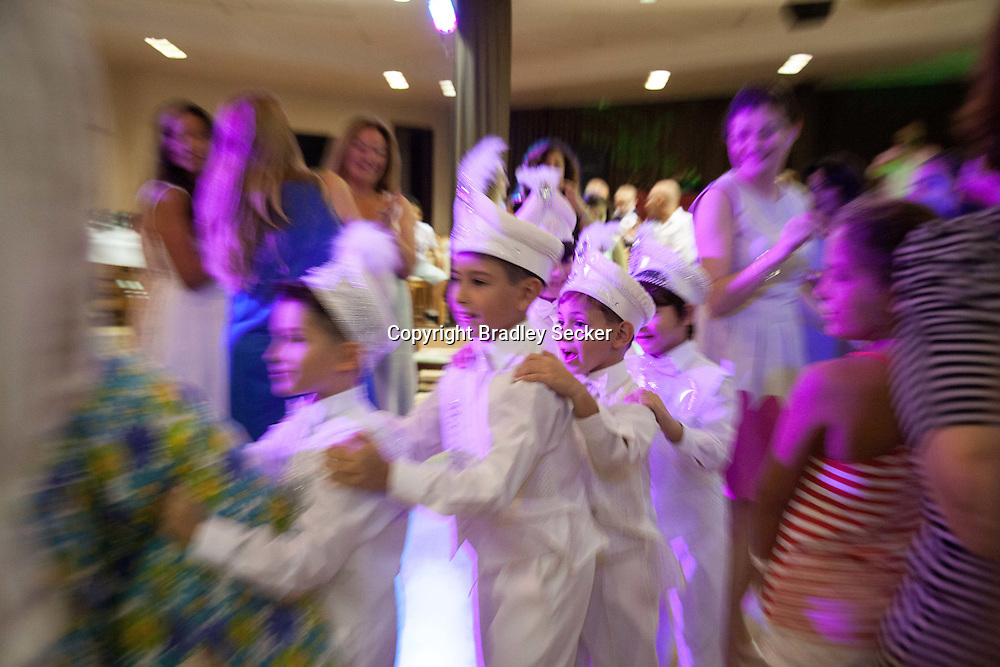 Parents of participating children and entertainers help the boys to feel relaxed and excited before the circumcision takes place. The Circumcision Palace in Istanbul, Turkey claims to have performed more than 100,000 operations.