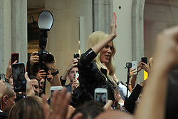 Claudia Schiffer in Milan for fashion week. 24 Sep 2017 Pictured: Claudia Schiffer. Photo credit: MEGA TheMegaAgency.com +1 888 505 6342