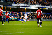 during the EFL Sky Bet Championship match between Queens Park Rangers and Brentford at the Loftus Road Stadium, London, England on 10 November 2018.