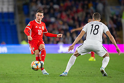 CARDIFF, WALES - Friday, September 6, 2019: Wales' Harry Wilson during the UEFA Euro 2020 Qualifying Group E match between Wales and Azerbaijan at the Cardiff City Stadium. (Pic by Mark Hawkins/Propaganda)