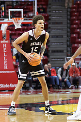 07 January 2018:  Jarrid Rhodes during a College mens basketball game between the Missouri State Bears and Illinois State Redbirds in Redbird Arena, Normal IL