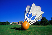 Image of Sculpture Park and the Nelson-Atkins Museum of Art in Kansas City, Missouri, American Midwest
