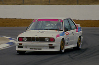 #10 Nettan Lindgren BMW Team Sweden BMW M3  during Round 1of the 1991 British Touring Car Championship at Silverstone, Towcester, Northamptonshire, United Kingdom. 1st April 1991, World Copyright Peter Taylor/PSP. Copy of publication required for printed pictures.