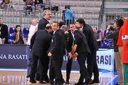 DESCRIZIONE : Torino Coppa Italia Final Eight 2012 Quarto di Finale Montepaschi Siena Banco di sardegna Sassari<br /> GIOCATORE : Romeo Sacchetti Staff Banco di Sardegna Sassari<br /> SQUADRA :  Banco di sardegna Sassari<br /> EVENTO : Suisse Gas Basket Coppa Italia Final Eight 2012<br /> GARA : Montepaschi Siena Banco di sardegna Sassari<br /> DATA : 16/02/2012<br /> CATEGORIA : Curiosita Ritratto<br /> SPORT : Pallacanestro<br /> AUTORE : Agenzia Ciamillo-Castoria/ L.Goria<br /> Galleria : Final Eight Coppa Italia 2012<br /> Fotonotizia : Torino Coppa Italia Final Eight 2012 Quarto di Finale Montepaschi Siena Banco di sardegna Sassari<br /> Predefinita :