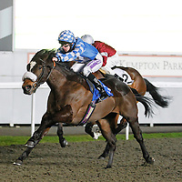 Bowie Boy and Richard Kingscote winning the 6.10 race