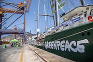 Rainbow Warrior III: la nave di Greenpeace nel porto di Palermo