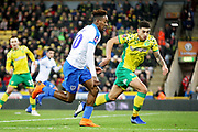 Portsmouth forward Jamal Lowe (10) during the The FA Cup 3rd round match between Norwich City and Portsmouth at Carrow Road, Norwich, England on 5 January 2019.