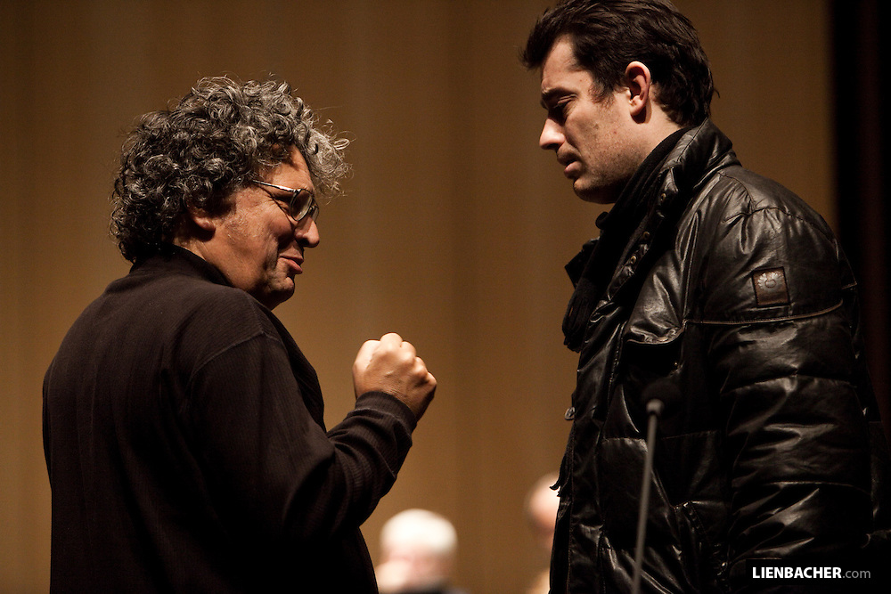 René .Jacobs und Donat Havár. Grand Festival Hall Salzburg. Photo: Wolfgang Lienbacher