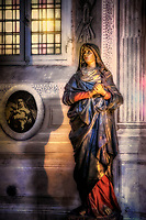 """Madonna in the Basilica of Santa Maria del Popolo Rome""... <br />