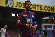 Yohan Cabaye in action during the Barclays Premier League match between Crystal Palace and Swansea City at Selhurst Park, London, England on 28 December 2015. Photo by Michael Hulf.
