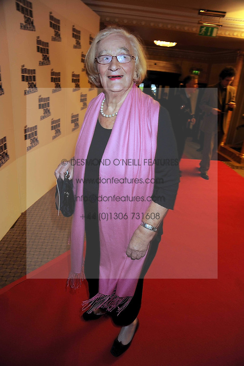 LIZ SMITH at the 2009 South Bank Show Awards held at The Dorchester, Park Lane, London on 20th January 2009.