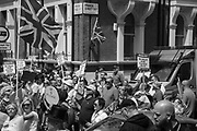 The UK Unity and Freedom March ,Victoria  London. 23 June 2018