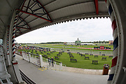 A general view of The Knavesmire and racecourse prior to the third day of the Dante Festival at York Racecourse, York, United Kingdom on 17 May 2019.