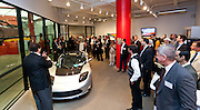 Jeffrey Bernstein, The Archstone Group and Chairman, MCC addresses the guests at MCC Transportation Transformation Series: Opening Reception at Tesla Showroom held  May 11, 2011 at Tesla Motors New York, 511 West 25th Street, New York. This exciting series was presented by MCC's Green Business Committee, MCC's Tech and Innovation Committee and E3NYC. The MCC offers the business community a variety of perspectives of the direction of clean transportation in New York and beyond. The Tesla Roadster is the world's only automobile that offers supercar performance without supercar emissions. Engineered for performance and efficiency, it accelerates from 0 to 60 in 3.7 seconds, delivering 295 lbs-ft. of torque without using a drop of gasoline. The Roadster travels 245 miles on a single charge and plugs into nearly any outlet in the world - allowing for uncompromised electric driving. The event was sponsored by Con Edison Commercial & Industrial Energy Efficiency Programs for sponsoring the MCC Green Business Committee for 2011.