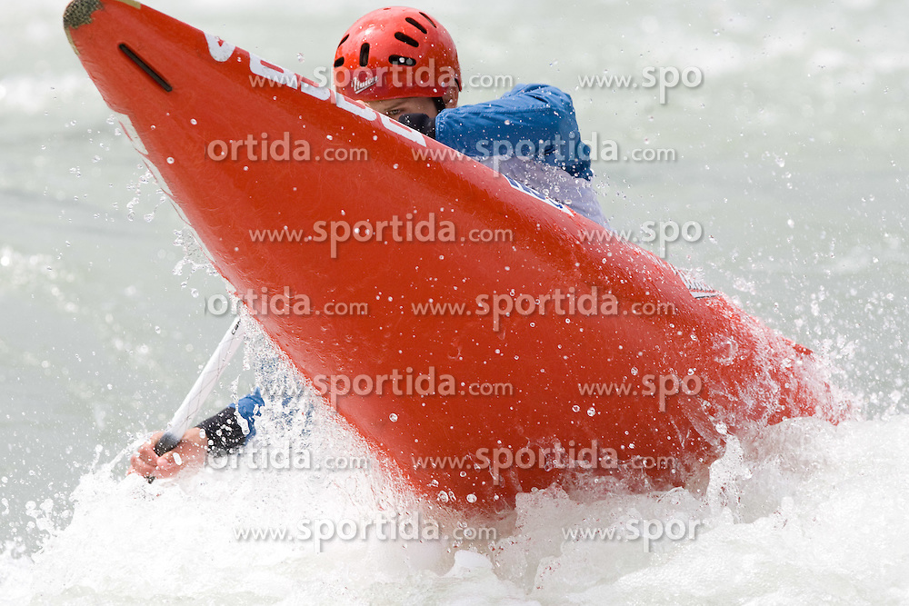 Jure Lenarcic of KKK Tacen competes in the Men's Canoe Single C-1 at kayak & canoe slalom race on May 9, 2010 in Tacen, Ljubljana, Slovenia. (Photo by Vid Ponikvar / Sportida)