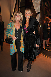 Left to right, INGRID SEWARD and INGRID TARRANT at a party to celebrate the publication of Inheritance by Tara Palmer-Tomkinson at Asprey, 167 New Bond Street, London on 28th September 2010.