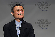 Jack Ma, Alibaba, at the World Economic Forum - Annual Meeting of the New Champions in Dalian, People's Republic of China 2015. Copyright by World Economic Forum / Greg Beadle