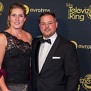 NLD/Amsterdam/20191009 - Uitreiking Gouden Televizier Ring Gala 2019, Boer Marnix en partner Emmie