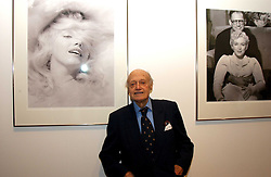 JACK CARDIFF at an exhibition of photographs by Jack Cardiff held at The Royal College of Art, Kensington Gore, London on 10th November 2004.<br /><br />NON EXCLUSIVE - WORLD RIGHTS