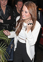 LONDON - January 28: Rosie Fortescue in London (Photo by Brett D. Cove)