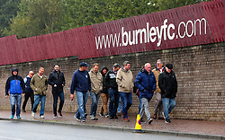 Burnley fans arrive at Turf Moor for the Premier League fixture between Burnley and Crystal Palace - Mandatory by-line: Robbie Stephenson/JMP - 10/09/2017 - FOOTBALL - Turf Moor - Burnley, England - Burnley v Crystal Palace - Premier League