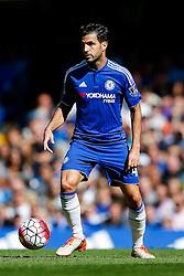 Cesc Fabregas of Chelsea in action - Mandatory byline: Rogan Thomson/JMP - 07966 386802 - 19/09/2015 - FOOTBALL - Stamford Bridge Stadium - London, England - Chelsea v Arsenal - Barclays Premier League.