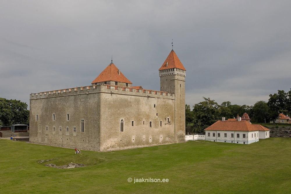 Kuressaare Episcopal Castle, Saare County, Estonia