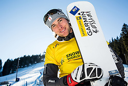 28.01.2017, Course Jasa, Rogla, SLO, FIS Weltcup Snowboard, Rogla, Parallel Riesenslalom, Herren, im Bild Benjamin Karl (AUT) // after men's Parallel Giant Slalom of the Rogla FIS Snowboard World Cup at the Course Jasa in Rogla, Slovenia on 2017/01/28. EXPA Pictures © 2017, PhotoCredit: EXPA/ Sportida<br /> <br /> *****ATTENTION - OUT of SLO, FRA*****