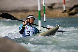Kazuki YAZAWA of Japan during the Kayak Single (MK1) Mens Semi Final race of 2019 ICF Canoe Slalom World Cup 4, on June 30, 2019 in Tacen, Ljubljana, Slovenia. Photo by Sasa Pahic Szabo / Sportida