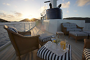 Seawolf/Dolce far Niente shot off Virgin Gorda, BVI