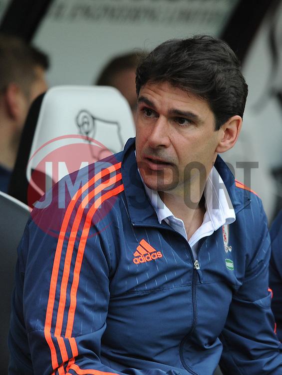 Middlesbrough Manager Aitor Karanka - Mandatory byline: Dougie Allward/JMP - 07966386802 - 18/08/2015 - FOOTBALL - iPro Stadium -Derby,England - Derby County v Middlesbrough - Sky Bet Championship