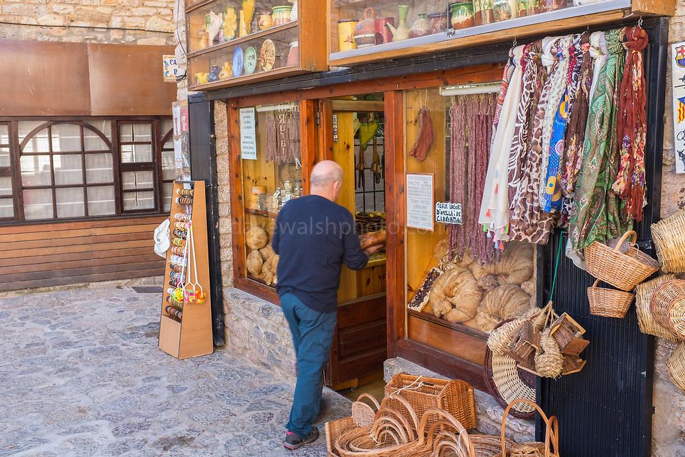 Castellar de n'Hug, Catalonia, home of the giant croissant.