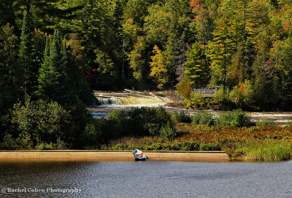 &quot;Boating at Tahquamenon Falls&quot;<br />