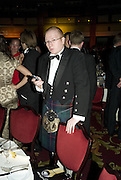 IAIN DEY,  IFR ( International Financial Review)  Awards Gala  Dinner Fundraiser for Save the Children, Grosvenor House. London. 14 January 2008. <br />-DO NOT ARCHIVE-© Copyright Photograph by Dafydd Jones. 248 Clapham Rd. London SW9 0PZ. Tel 0207 820 0771. www.dafjones.com.