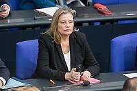 14 FEB 2019, BERLIN/GERMANY:<br /> Sabine Weiss, MdB, CDU, Parlamentarische Staatssekretaerin im Bundesgesundheitsministerium,  Bundestagsdebatte, Plenum, Deutscher Bundestag<br /> IMAGE: 20190214-01-016<br /> KEYWORDS: Bundestag, Debatte