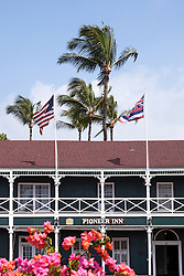 Plantation Inn, a historic lodging on Lahaina's waterfront that dates from the town's 19th century whaling days.