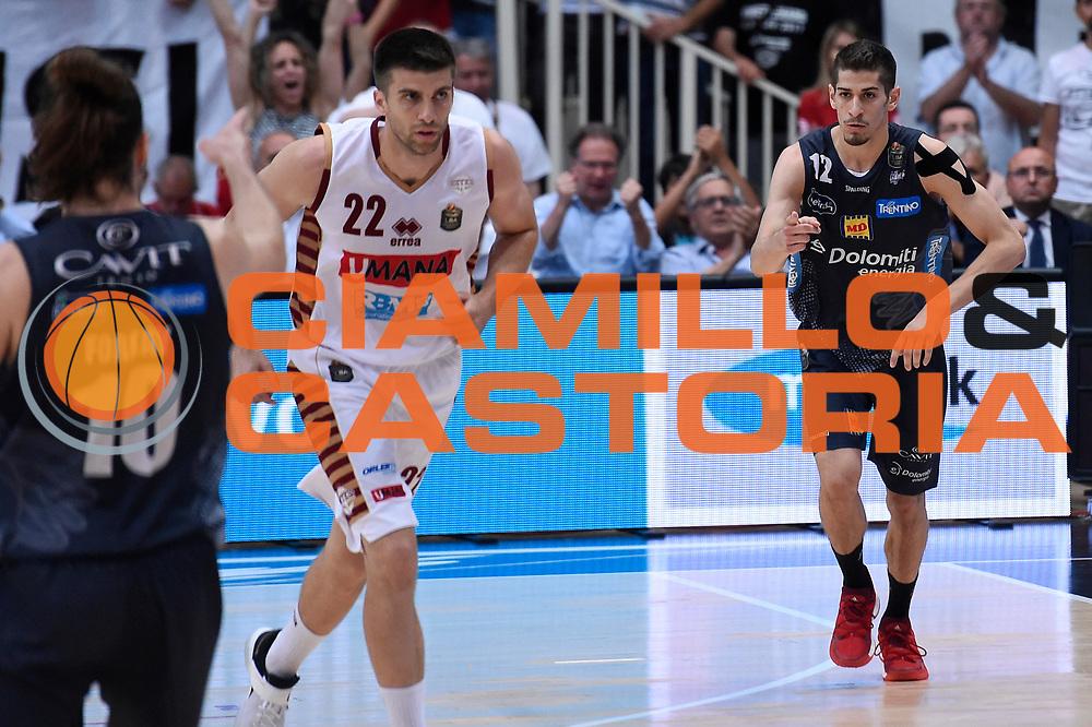 Diego Flaccadori<br /> Dolomiti Energia Aquila Basket Trento - Umana Reyer Venezia<br /> Lega Basket Serie A 2016/2017<br /> Playoff, finale gara 3<br /> Trento, 14/06/2017<br /> Foto M.Ceretti / Ciamillo-Castoria